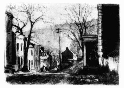 Harpers Ferry in 1917 - sketch by Wallace Morgan